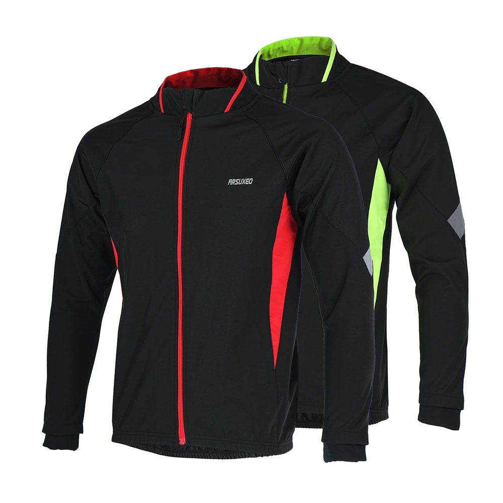Sale 14% (17.49 ) - ARSUXEO Sports Cycling Jacket Coat Bike Bicycle Jersey c8a207e99