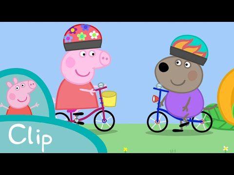 Peppa Pig Peppa Learns How To Ride A Bike Clip Youtube