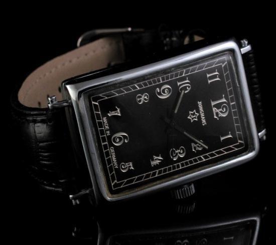 new styles 9203e df04f JUNGHANS - ユンハンス】 アンティークデザインスクエアメンズ ...