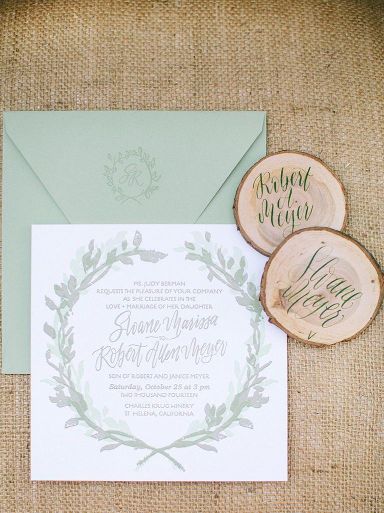 sunflower wedding invitations printable%0A    Rustic Wedding Invitation Ideas