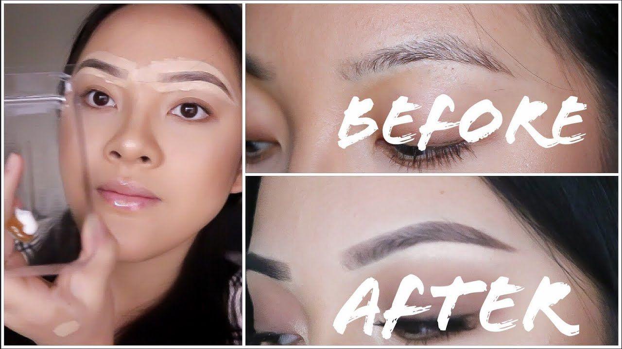 Eyebrow Tinting Hack How To Color Eyebrows Dye Eyebrows Beard Colour