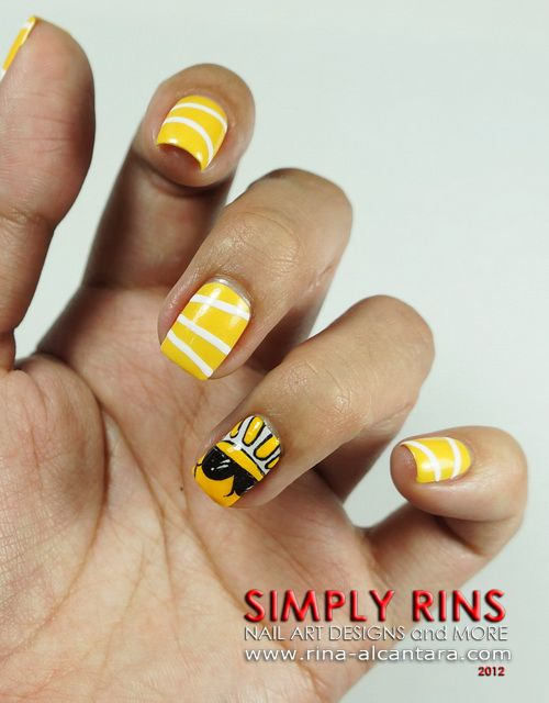 Here Comes the Sun Nail Art Design - Here Comes The Sun Nail Art Design NAIL ART Pinterest