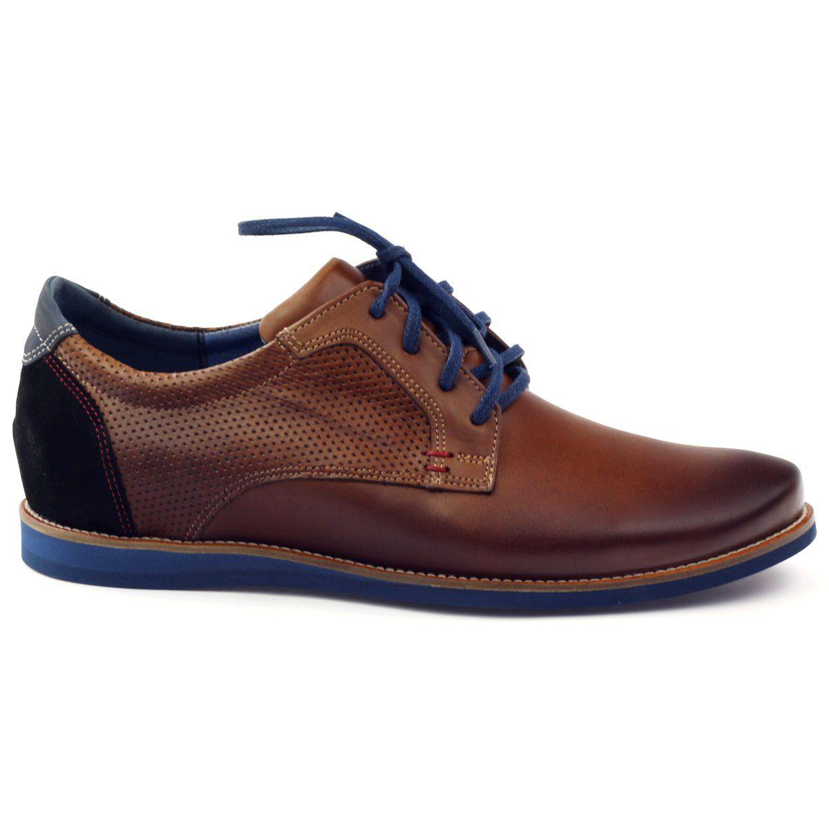 Casual Polbuty Meskie Nikopol 1657 Brazowe Czarne Granatowe Brown Shoes Men Dress Shoes Men Shoes Mens