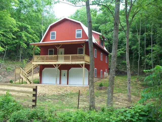 Vernon county near la farge hillsboro on cty p amish for Barn home builders near me