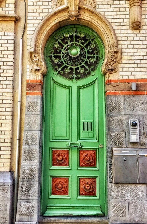Ghent Belgica Puertas De Entrada Puertas Ventanas