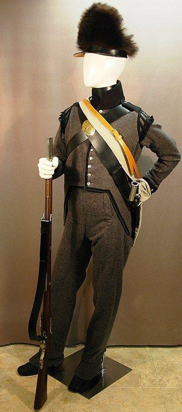 Canadian Voltigeur Uniform 1813 Royal Military College Museum British Army Uniform British Uniforms Military Uniform