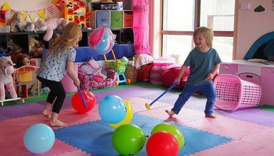 Juegos Con Globos Para Una Divertida Fiesta Infantil