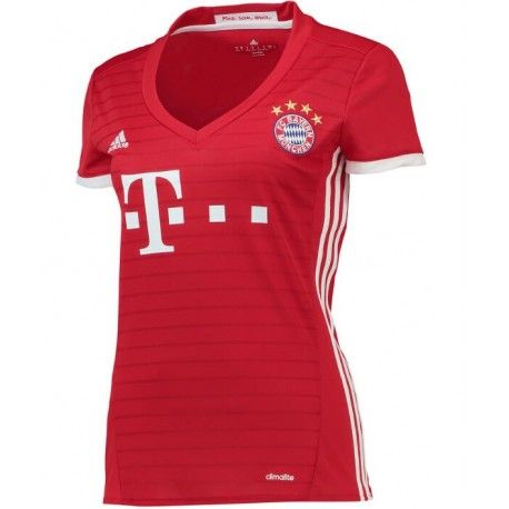 Camiseta del Bayern Munich para Mujer Home 2016 2017  ac890a5fc7bbf