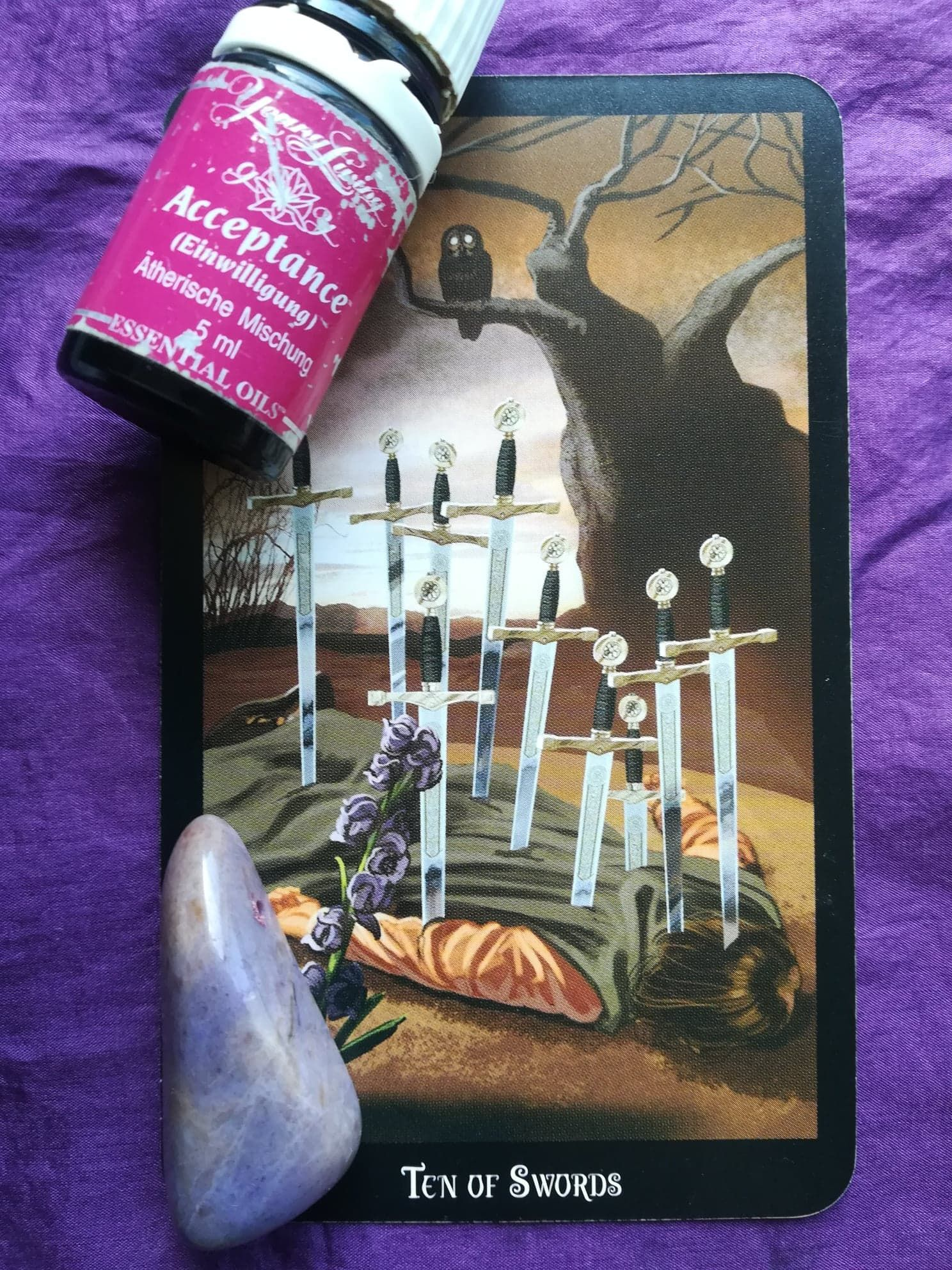 Ten of swords daily tarot reading tarot reading angel