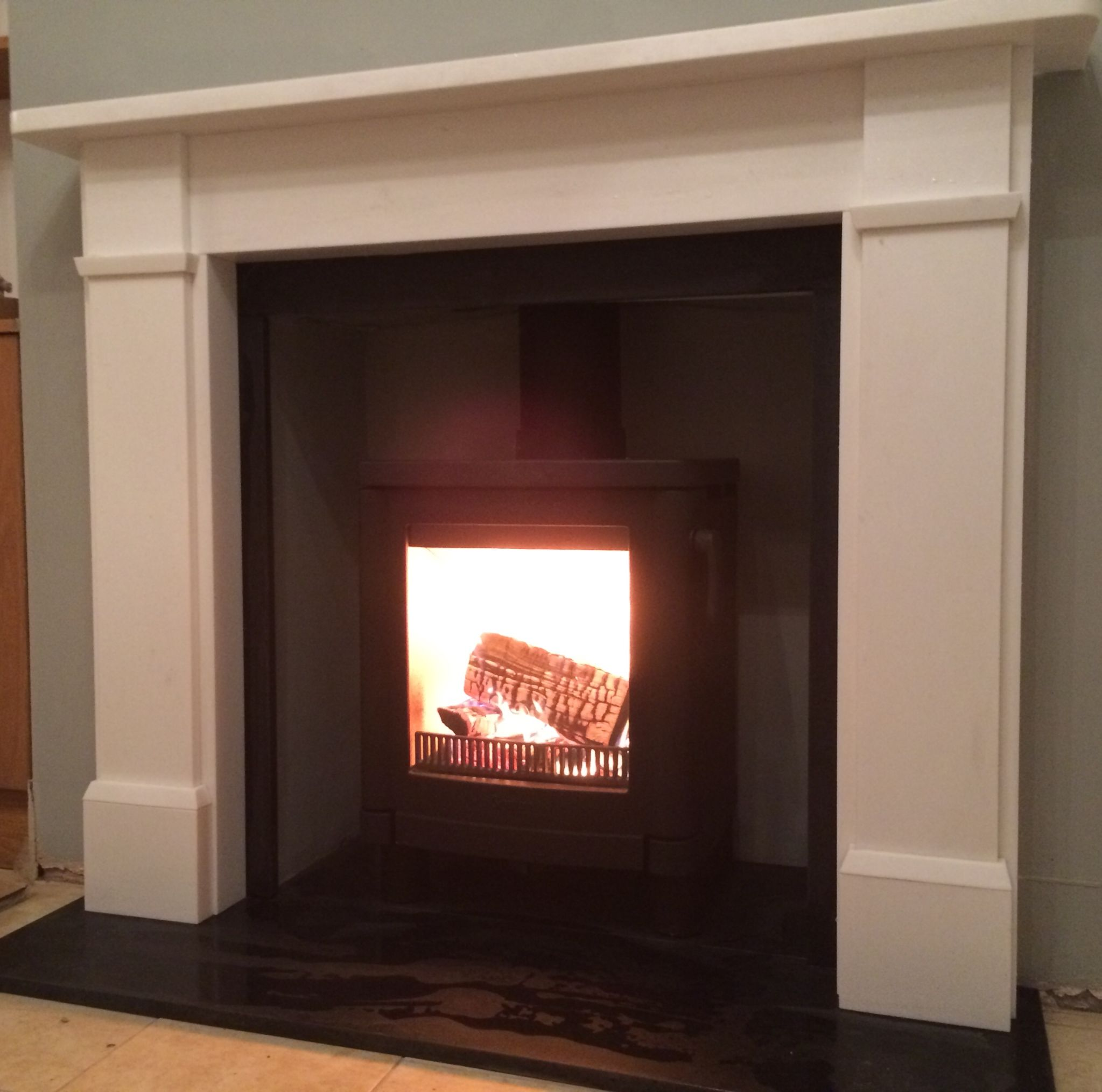 Contura 51l Wood Burning Stove In Black Supplied By Www Topstak Co