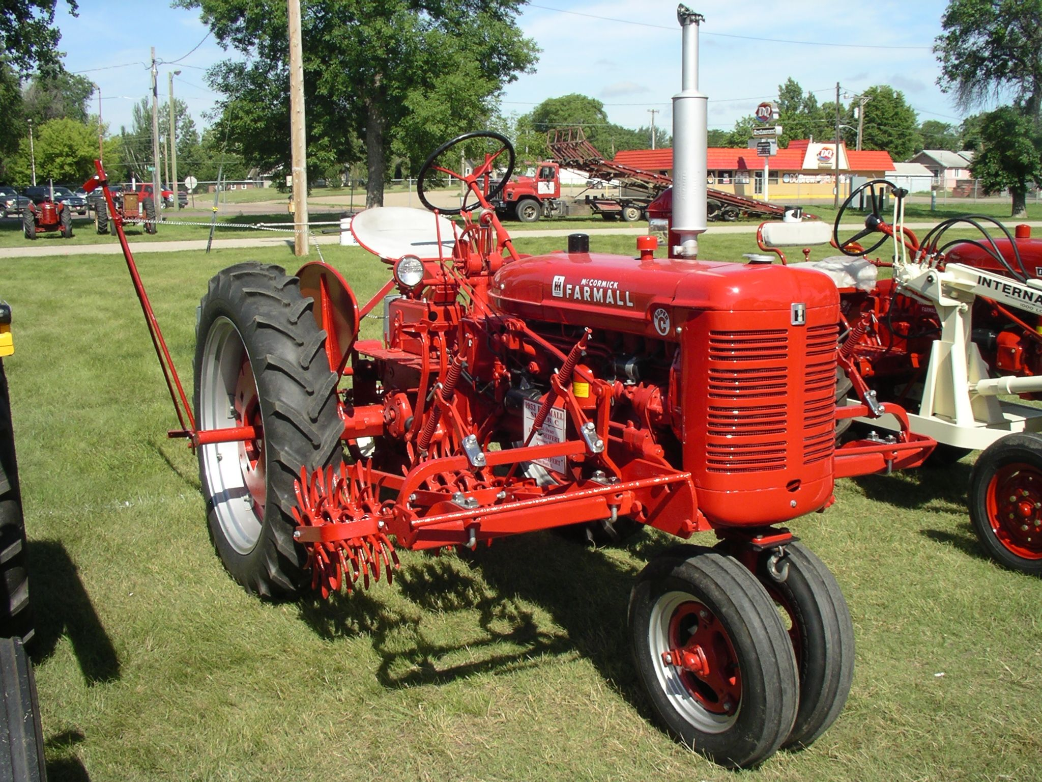 farmall super c implements - photo #12