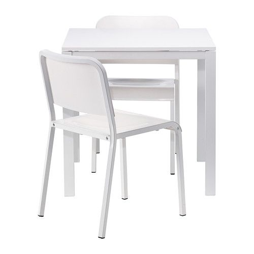 MELLTORP Table and  chairs IKEA Seats . The melamine table top
