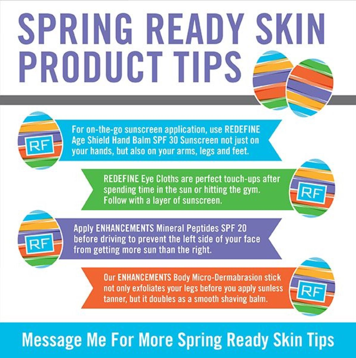 Got Skin? Message me for more details on Spring and Summer Skincare Products.