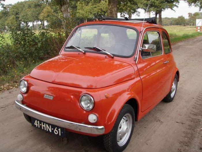 Vecchia 500 Light Blue Fiat 500 Light Blue Blue