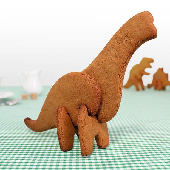 恐竜のクッキー1