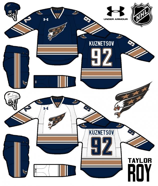 Hockeyjerseyconcepts Icehockey Ice Hockey Uniform In 2020 Washington Capitals Hockey Capitals Hockey