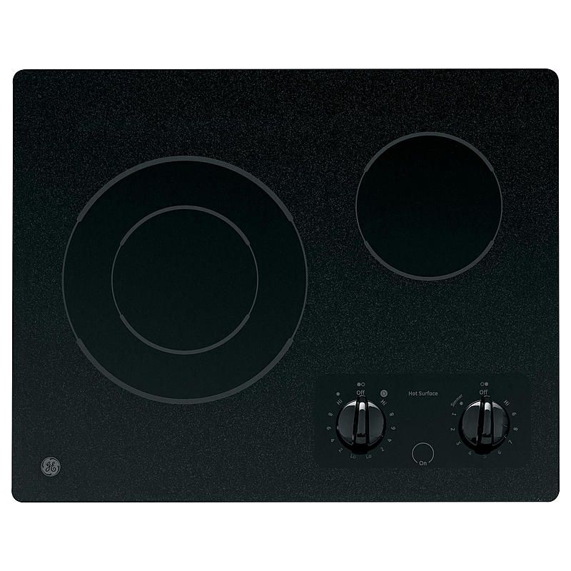 Ge appliances jp256bmbb 21 electric cooktop electric