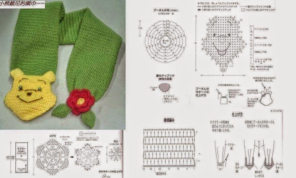 Patrones bufanda crochet para niños | Bufandas niño | Pinterest ...