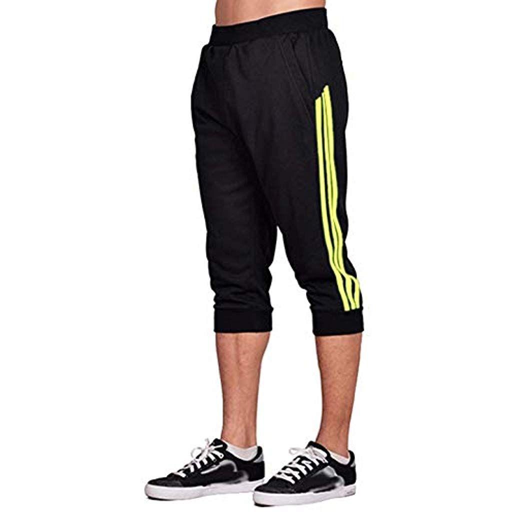 Femme Oversize Shorts Taille Élastique Gym Sweat Survêtement jogging running