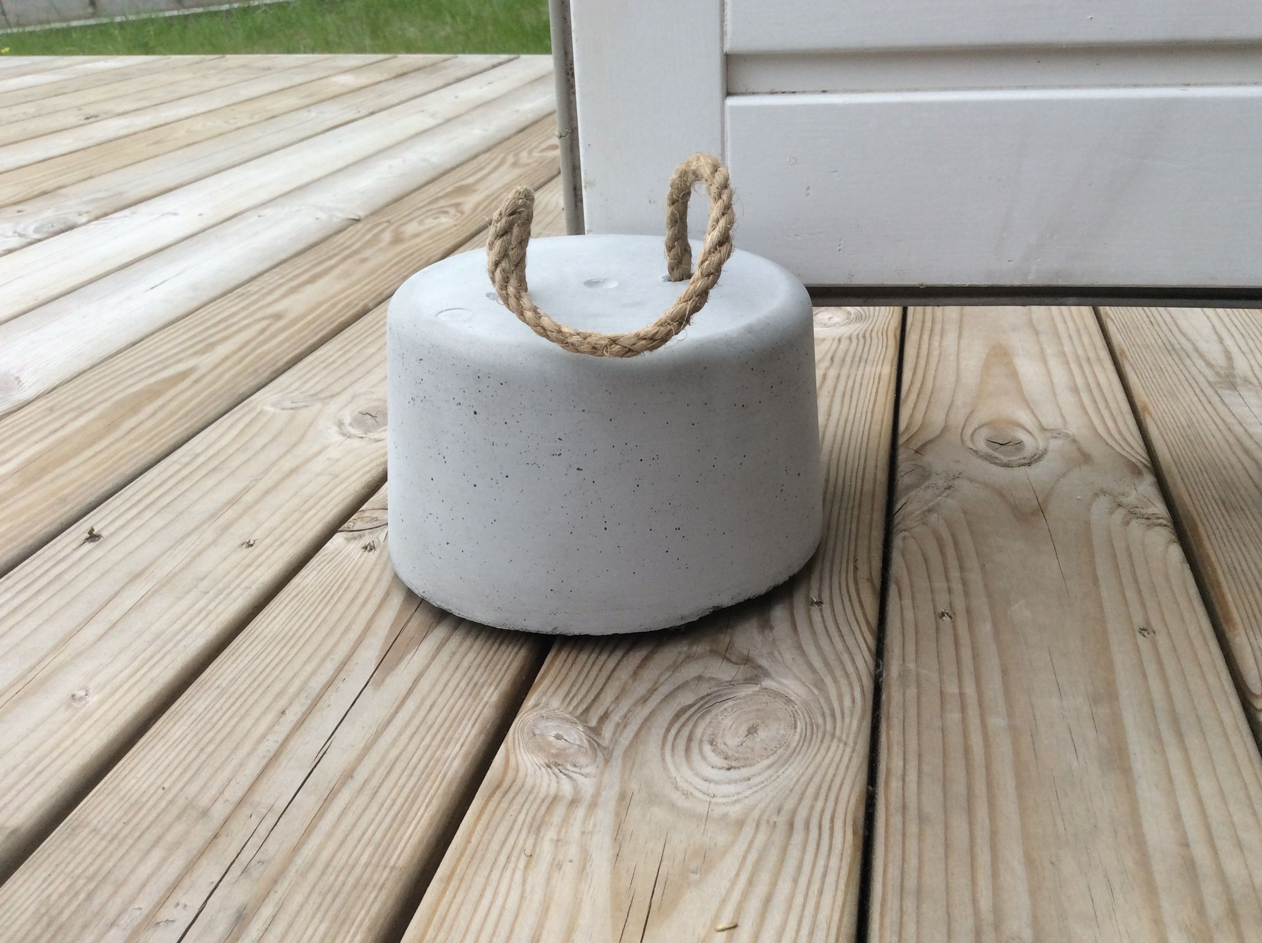Superieur Homemade Concrete Outdoor Door Stop