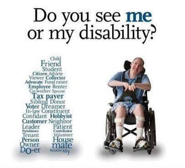 People Often Think Individuals With A Learning Disability Are Different And Discriminate Against Them Becaus Disability Awareness Disability Human Body Unit