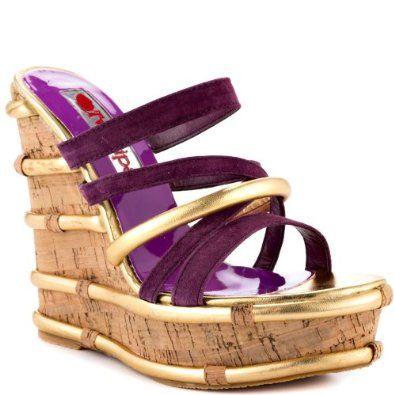 Amazon.com: 2 Lips Too Mambo - Purple: 2 Lips Too: Shoes