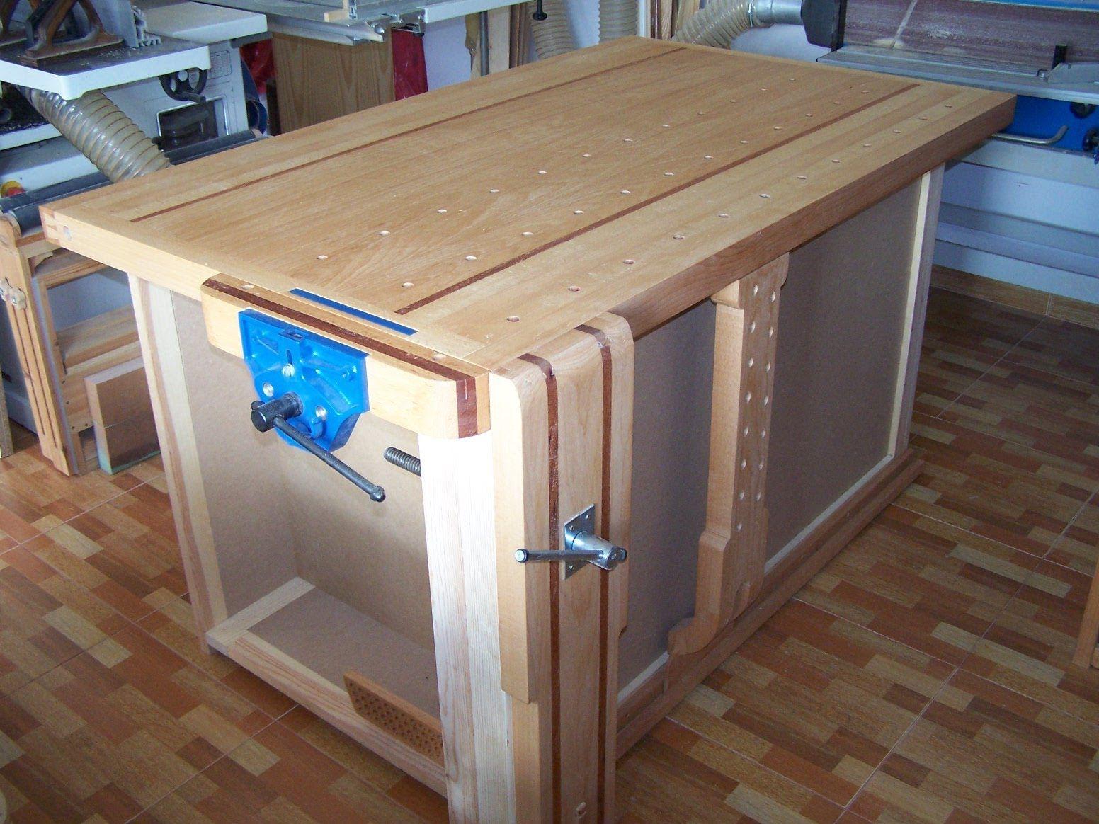 5/5 - Montaje final y acabado - How to build a workbench, final ...