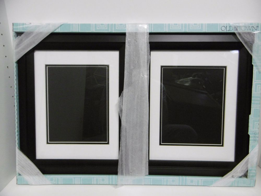 Old Town 11 X 14 Solid Wood Picture Frames With Designer Black