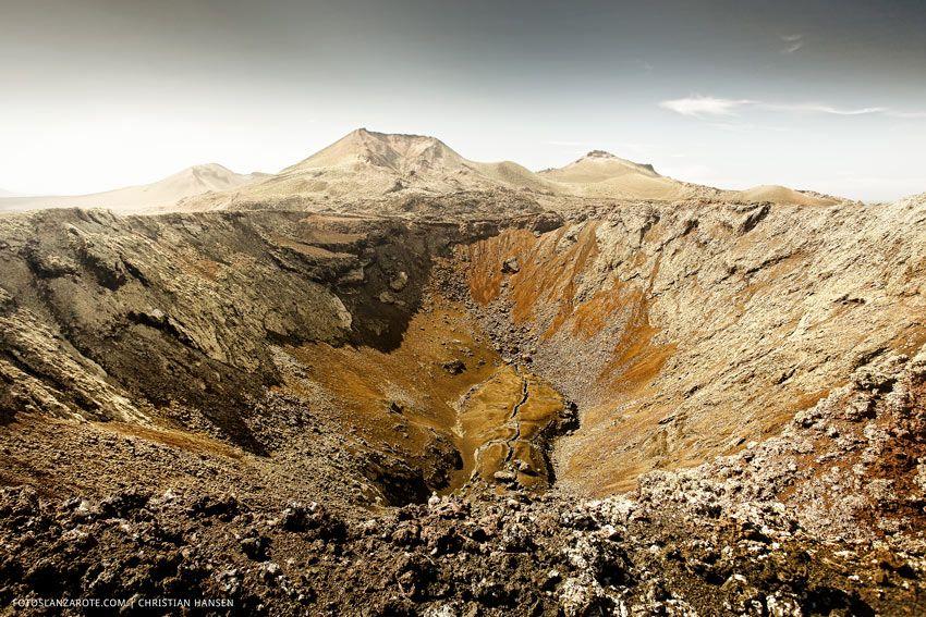 Volcanes de Timanfaya, Lanzarote, Las Islas Canarias (the Canary Islands), Spain