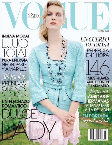Angela Lindvall for Vogue Mexico