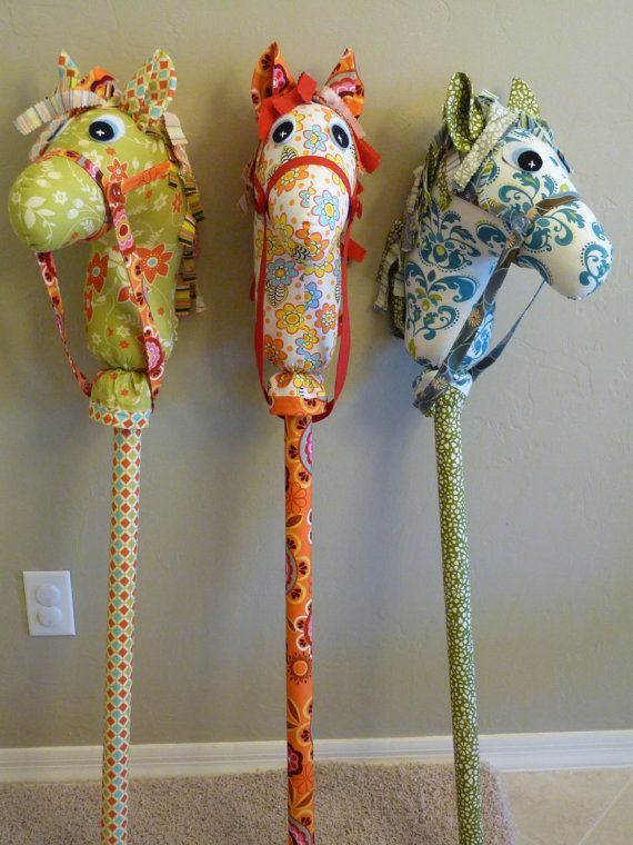 0f9e7cd0a Love the bridle and stick cover. … | hobby horses | Sewin…