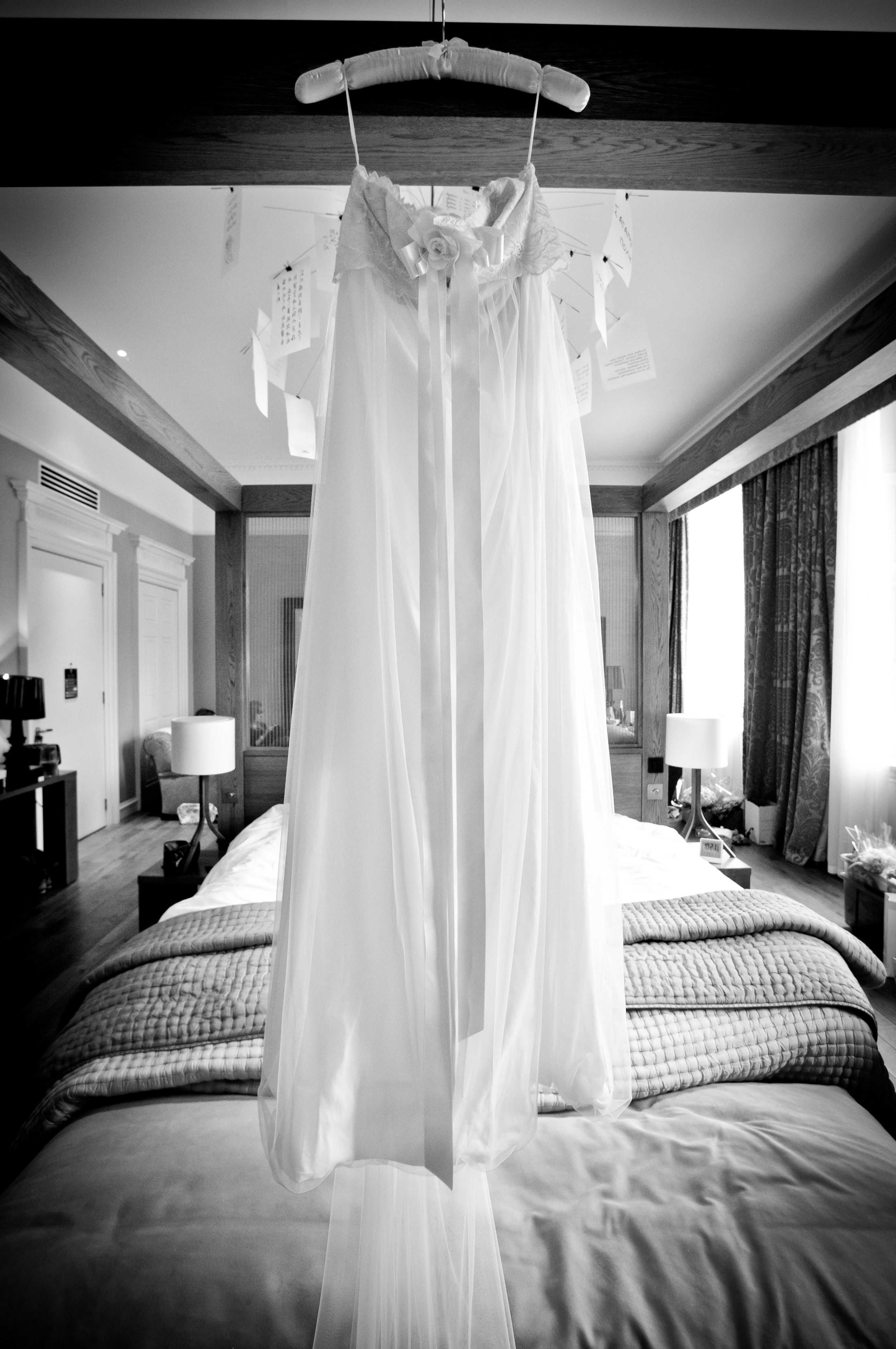 Real bride Natalie's 'Larissa' #wedding gown by Claire Pettibone http://bit.ly/Mm8V67 - Photo: Kevin Simm,  Cookietree Photography