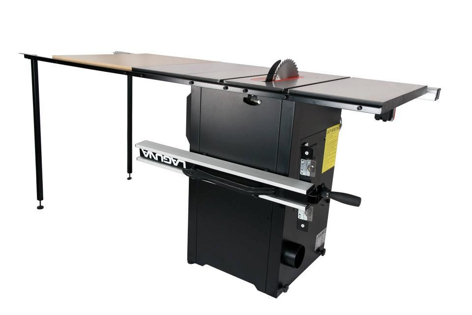 New Laguna Fusion Tablesaw With Table Extension Kit