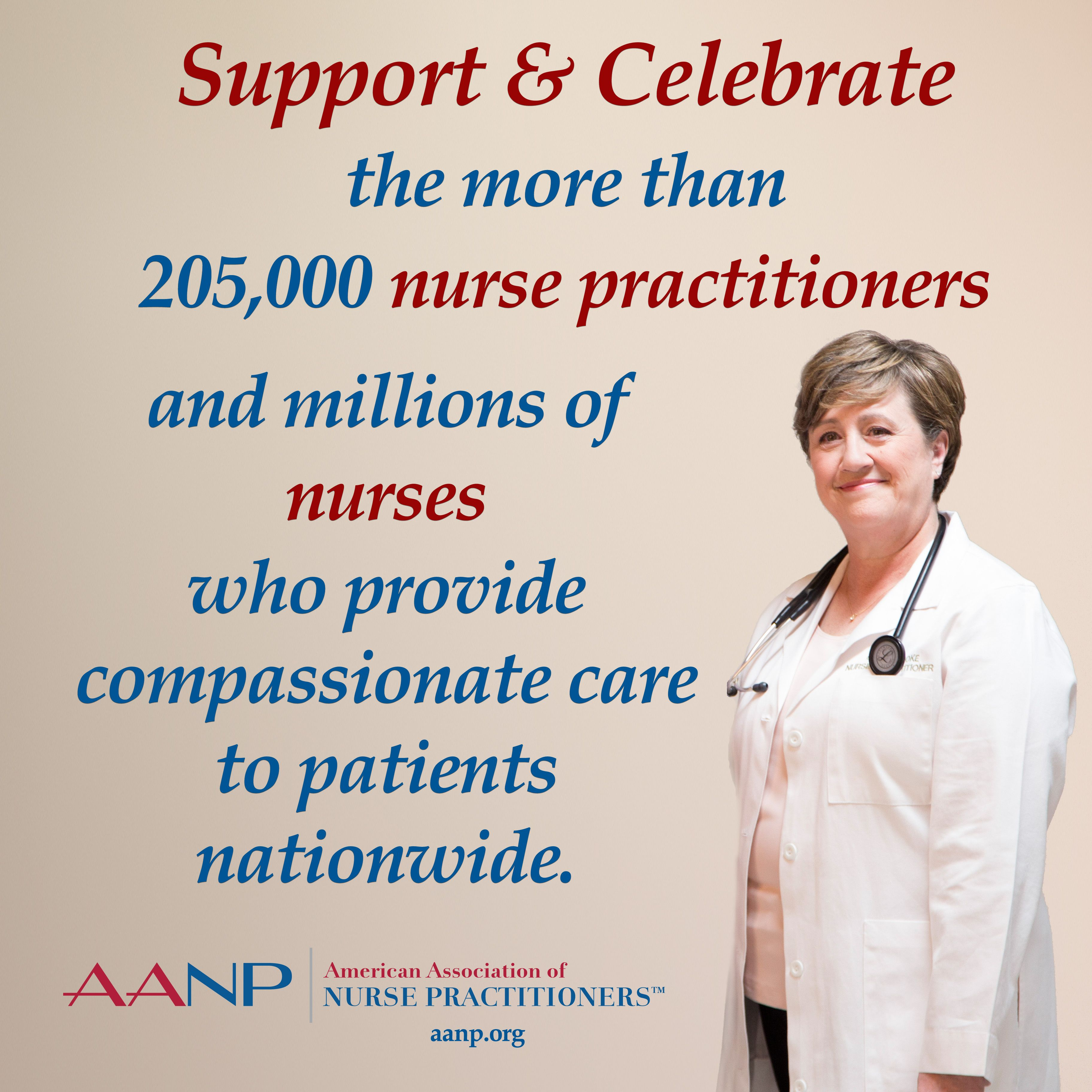 Aanp and more than 205000 nurse practitioners in the us