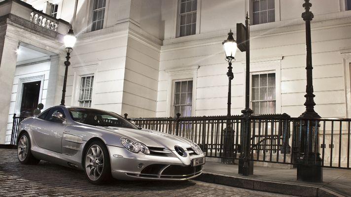 meet the supercars of london: mercedes-benz slr mclaren. thanks @top