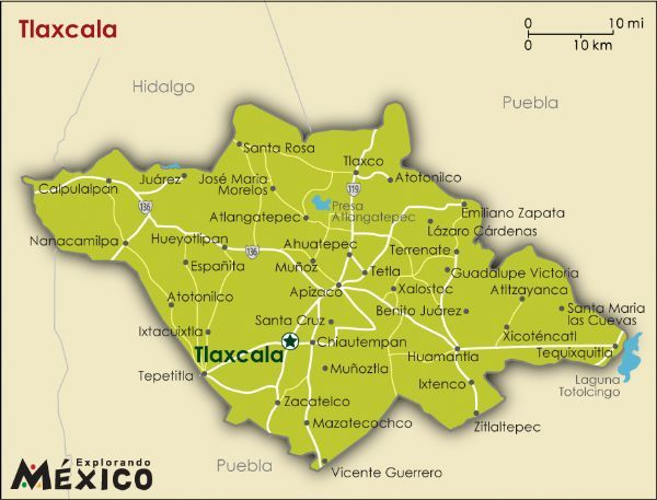 It Is Located Near The Center Of The Mexican Republic In The State