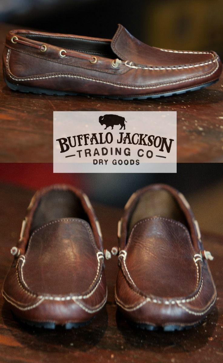 e003e39677603 The Vail: Red Rock Bison leather driving loafer. Leather and rubber driving  outsole. Genuine hand sewn construction. A casual mens shoe for the rugged  ...