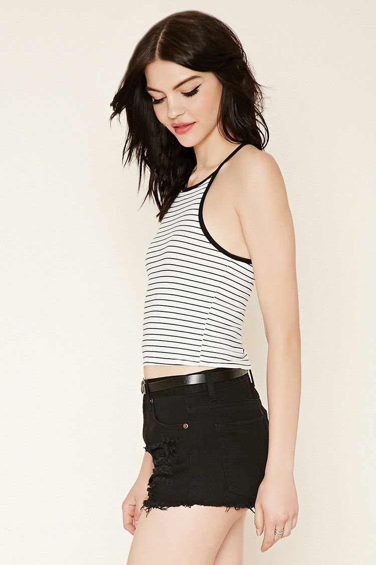 Striped Crop Top | Forever 21 - 2000205621