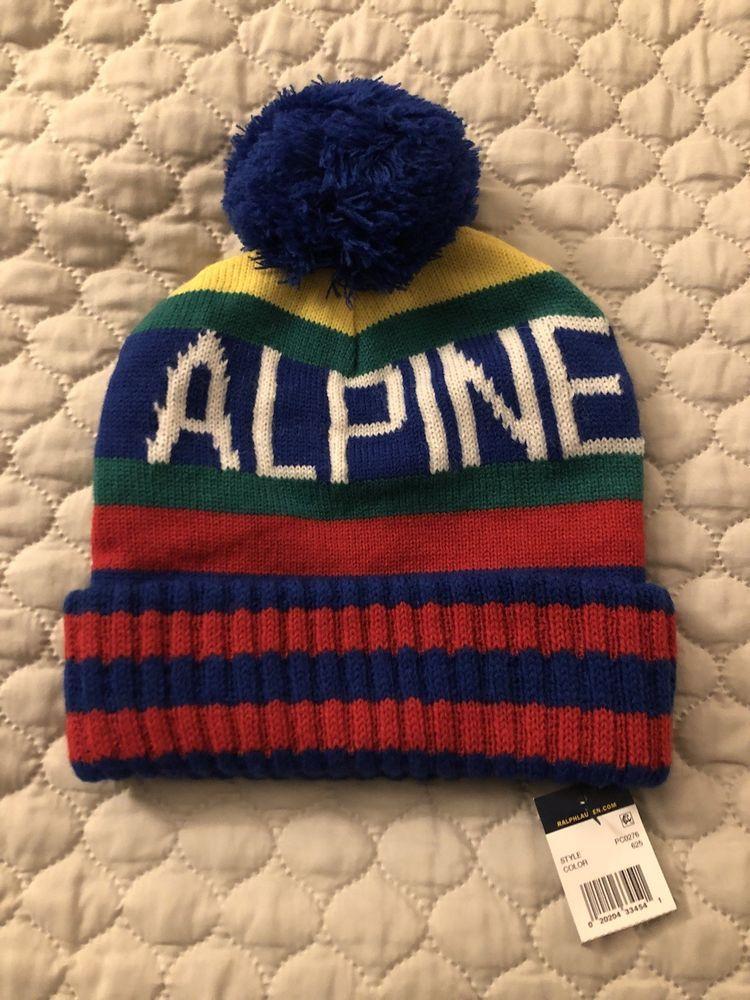 Polo Ralph Lauren Hi Tech Alpine Winter Beanie Hat CP 92 93 vtg ski snow  beach  fashion  clothing  shoes  accessories  mensaccessories  hats (ebay  link) 9e044064910