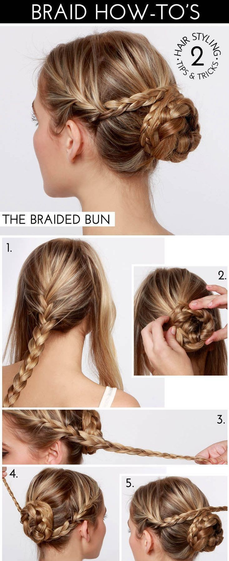 Quick Easy Hairstyles Inspiration Chicisfashion  Easy Hairstyles  Beauty And Hair Ideas  Pinterest