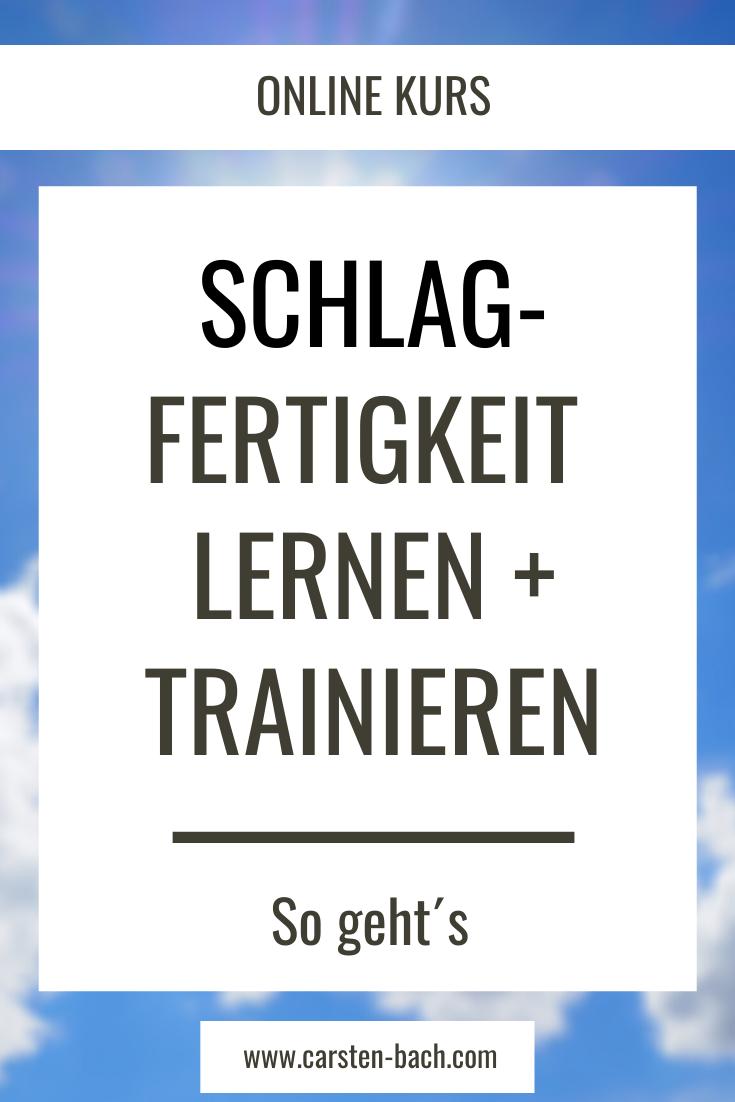 Schlagfertigkeit Seminar Carsten Bach Online Kurse Inhouse Seminare Vortrage Schlagfertigkeit Lernen Rhetorik Rhetorik Lernen
