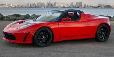 The Tesla Roadster Is An Electric Sports Car Powered By A