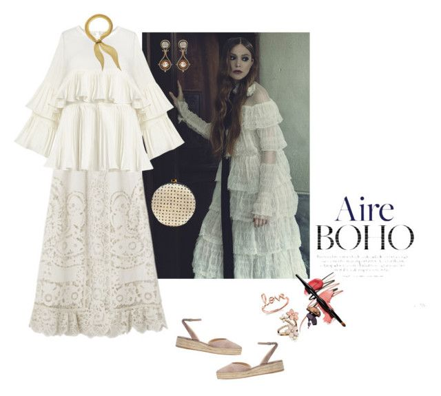 """Aire Boho"" by jckyleeah ❤ liked on Polyvore featuring Paul Andrew, Elsa Peretti, Elie Top, Accessorize and Sydney Evan"