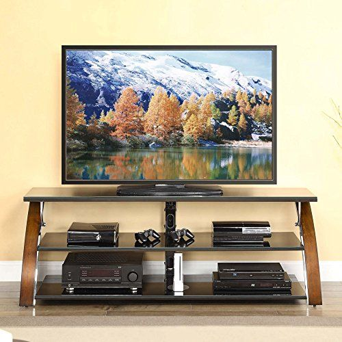 Modern 65 Inch Tv Stand 3in1 Swivel Wallmounted Tabletop With 3 Shelves Home Decor Fla Tv Stand And Entertainment Center Flat Screen Tv Stand Whalen Furniture Tv stand for flat screen tvs