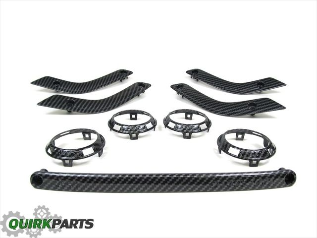11 15 Jeep Wrangler Carbon Fiber Interior Trim Kit Oem New Mopar
