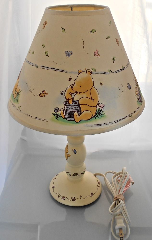 Disney classic winnie the pooh nursery and piglet nursery lamp w disney classic winnie the pooh nursery and piglet nursery lamp w shade disney aloadofball Images