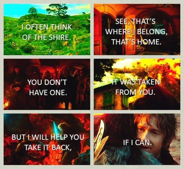 Bilbo Baggins Hobbit Quotes