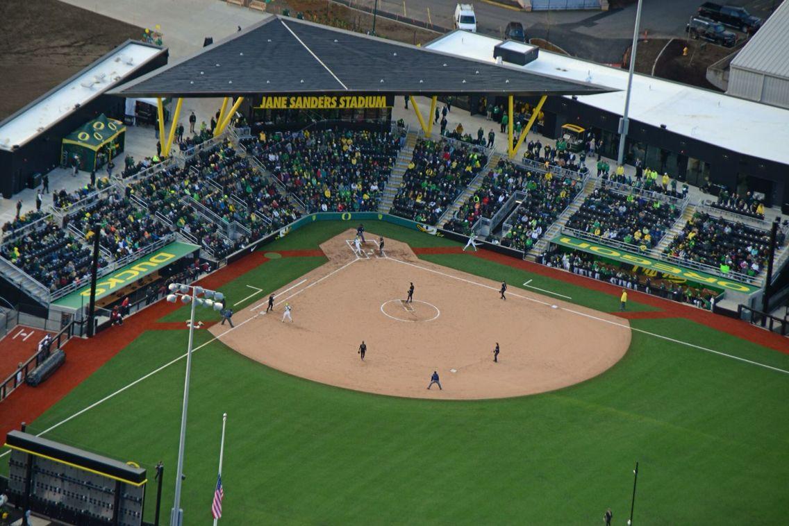 Oregon Ducks New Softball Stadium is awesome. Oregon