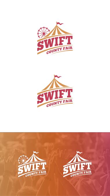 Swift County Fair logo design by Pancal | Featival | Logos, Logos
