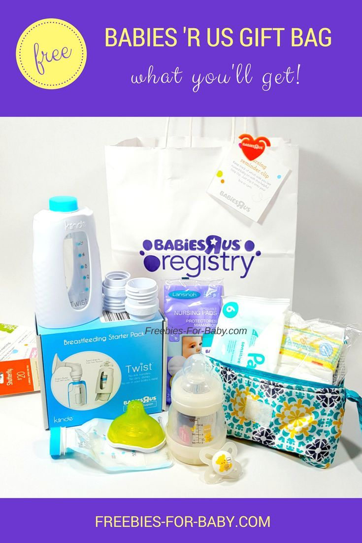 Free Babies \'R Us Registry Gift Bag - What You\'ll Get! | Babies ...